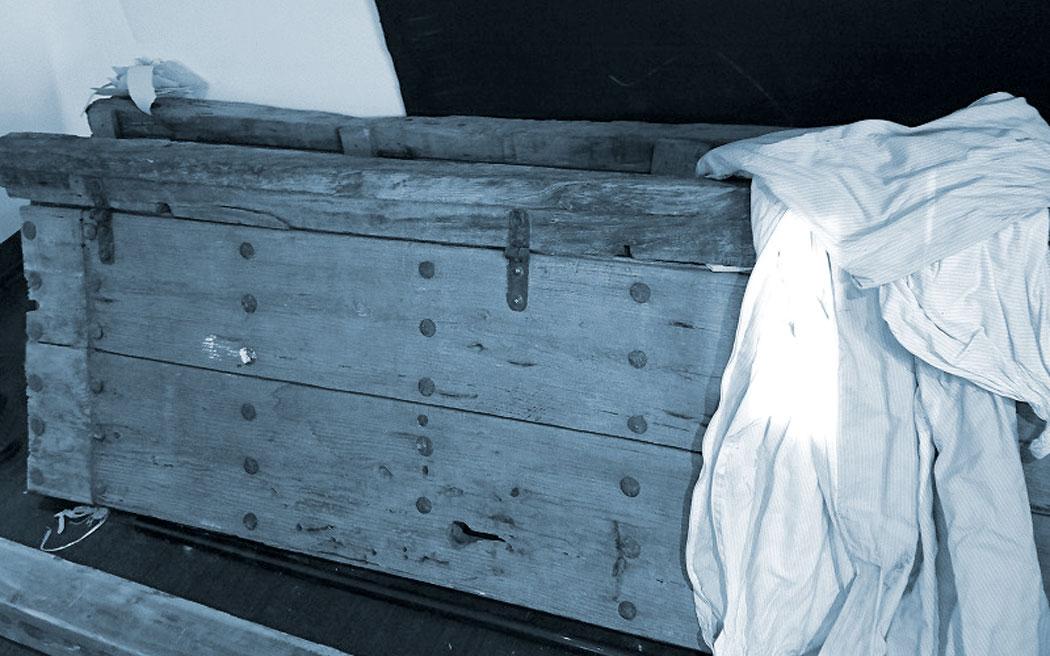 古い木材を活かしたリノベーション